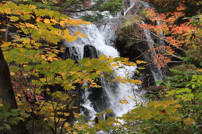 竜頭の滝と紅葉 その1page-visual 竜頭の滝と紅葉 その1ビジュアル