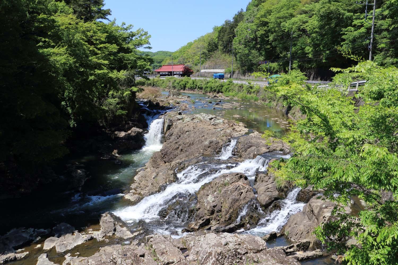 馬門の滝page-visual 馬門の滝ビジュアル
