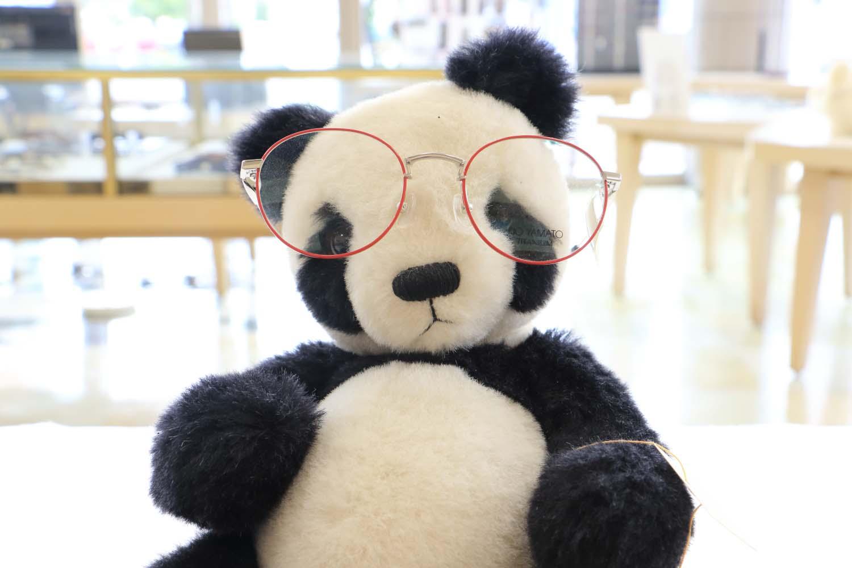 お洒落に目覚めたパンダ君page-visual お洒落に目覚めたパンダ君ビジュアル